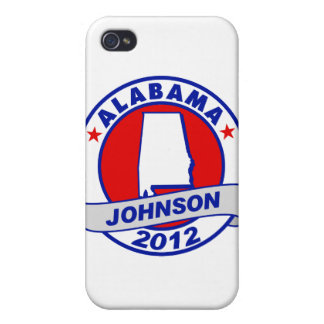 Alabama Gary Johnson Covers For iPhone 4