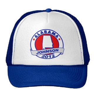 Alabama Gary Johnson Hat