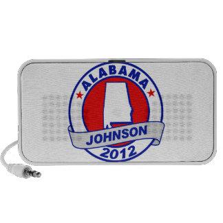 Alabama Gary Johnson iPhone Speakers