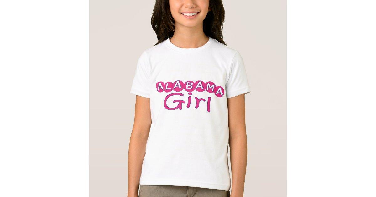 Alabama girl t shirt zazzle for T shirt printing mobile al
