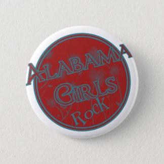 Alabama Girls Rock Pinback Button