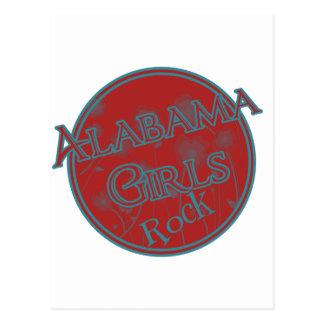 Alabama Girls Rock Postcard