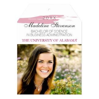 Alabama Graduation Announcement