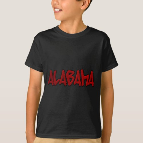 Alabama Graffiti T_Shirt
