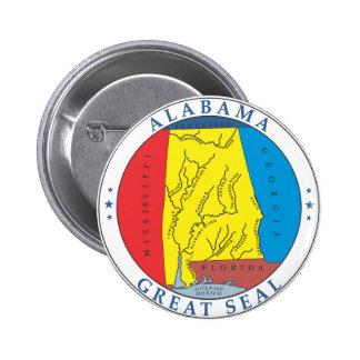 Alabama great seal buttons