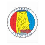 Alabama great seal post cards