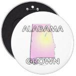 Alabama Grown Pinback Button