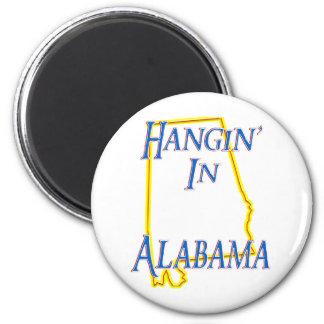 Alabama - Hangin Imán Redondo 5 Cm