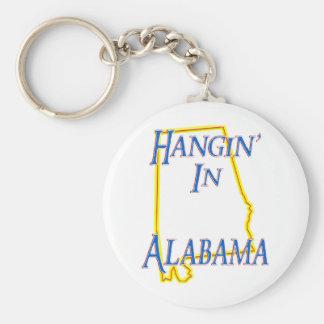 Alabama - Hangin Llavero Personalizado