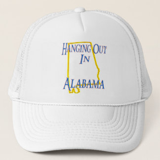 Alabama - Hanging Out Trucker Hat