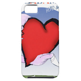 alabama head heart, tony fernandes iPhone SE/5/5s case