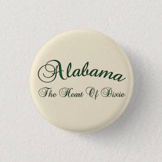 Alabama Heart Of Dixie Button