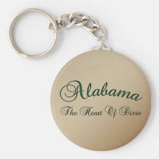 Alabama Heart Of Dixie Key Chain