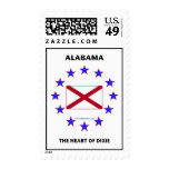 Alabama Heart of Dixie Postage
