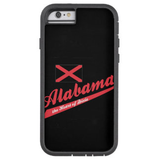 Alabama Heart of Dixie Tough Xtreme iPhone 6 Case