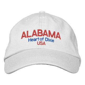 Alabama* Heart of Dixie USA Hat