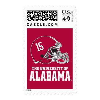 Alabama Helmet Postage Stamps
