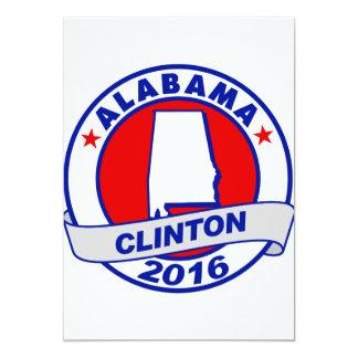 alabama Hillary Clinton 2016.png 5x7 Paper Invitation Card
