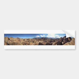 Alabama Hills and the Sierra Nevada Mountains Bumper Sticker