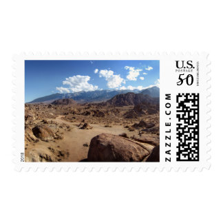 Alabama Hills and the Sierra Nevada Mountains Postage