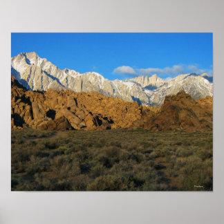 Alabama Hills - Sierra Nevada Art Print