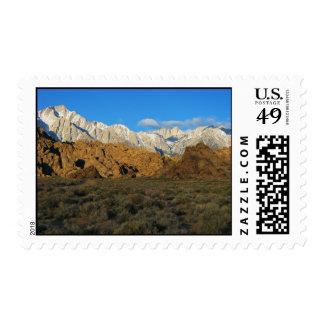 Alabama Hills - Sierra Nevada Postage