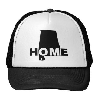 Alabama Home Away From State Ball Cap Hat