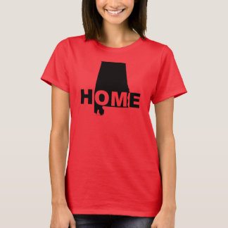 Alabama Home Away From State T-Shirt Tees
