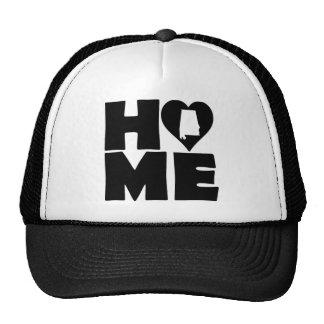 Alabama Home Heart State Ball Cap Trucker Hat