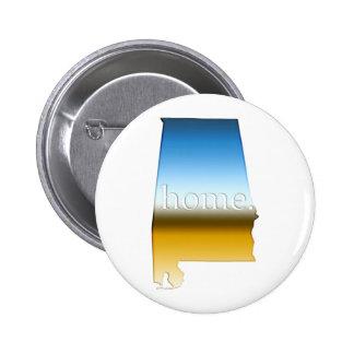 Alabama Home Horizon 2 Inch Round Button