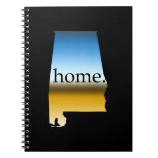 Alabama Home Horizon Notebooks