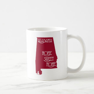 Alabama Home Sweet Home by U.S. Custom Ink Coffee Mug