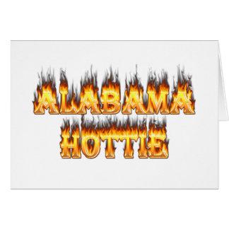 Alabama Hottie Greeting Card