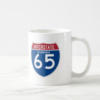 Alabama I-65 Interstate Highway Shield - AL Coffee Mug