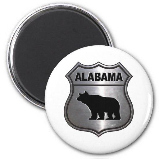 Alabama Imán Redondo 5 Cm