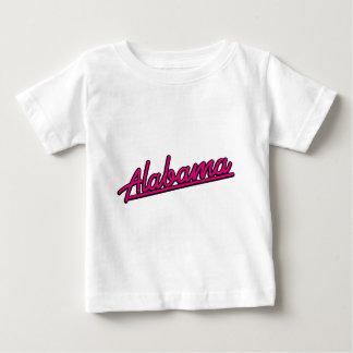 Alabama in magenta baby T-Shirt