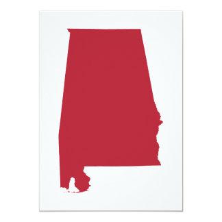 Alabama in Red Card
