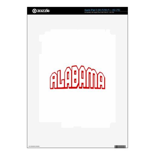 Alabama iPad 3 Skin