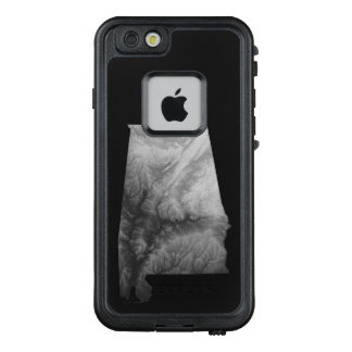 Alabama- iPhone 6/6s- Life Proof Case- B & W