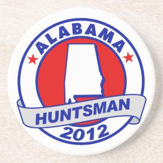 Alabama Jon Huntsman Drink Coaster