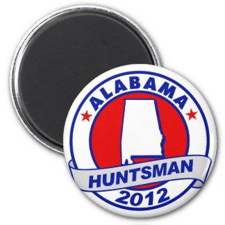 Alabama Jon Huntsman Fridge Magnet