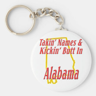 Alabama - Kickin' Butt Keychain