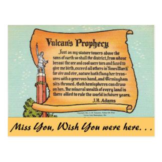 Alabama, la profecía de Vulcan Postales
