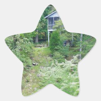 Alabama Lake House Star Sticker