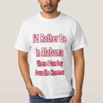 Alabama Lay Down the Hammer T-Shirt