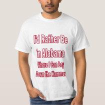 Alabama Lay Down the Hammer T-Shirt