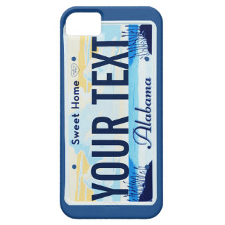 Alabama License Plate cell phone case