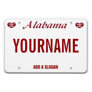 Alabama License Plate (personalized) Rectangular Photo Magnet