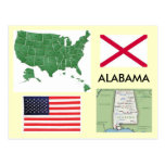 Alabama, los E.E.U.U. Postal