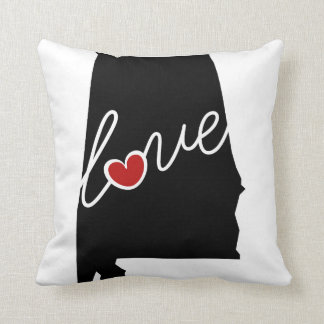 Alabama Love!  Gifts for AL Lovers Pillows